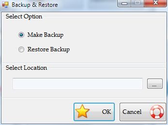 Mutual Fund Organizer - Backup and Recovery